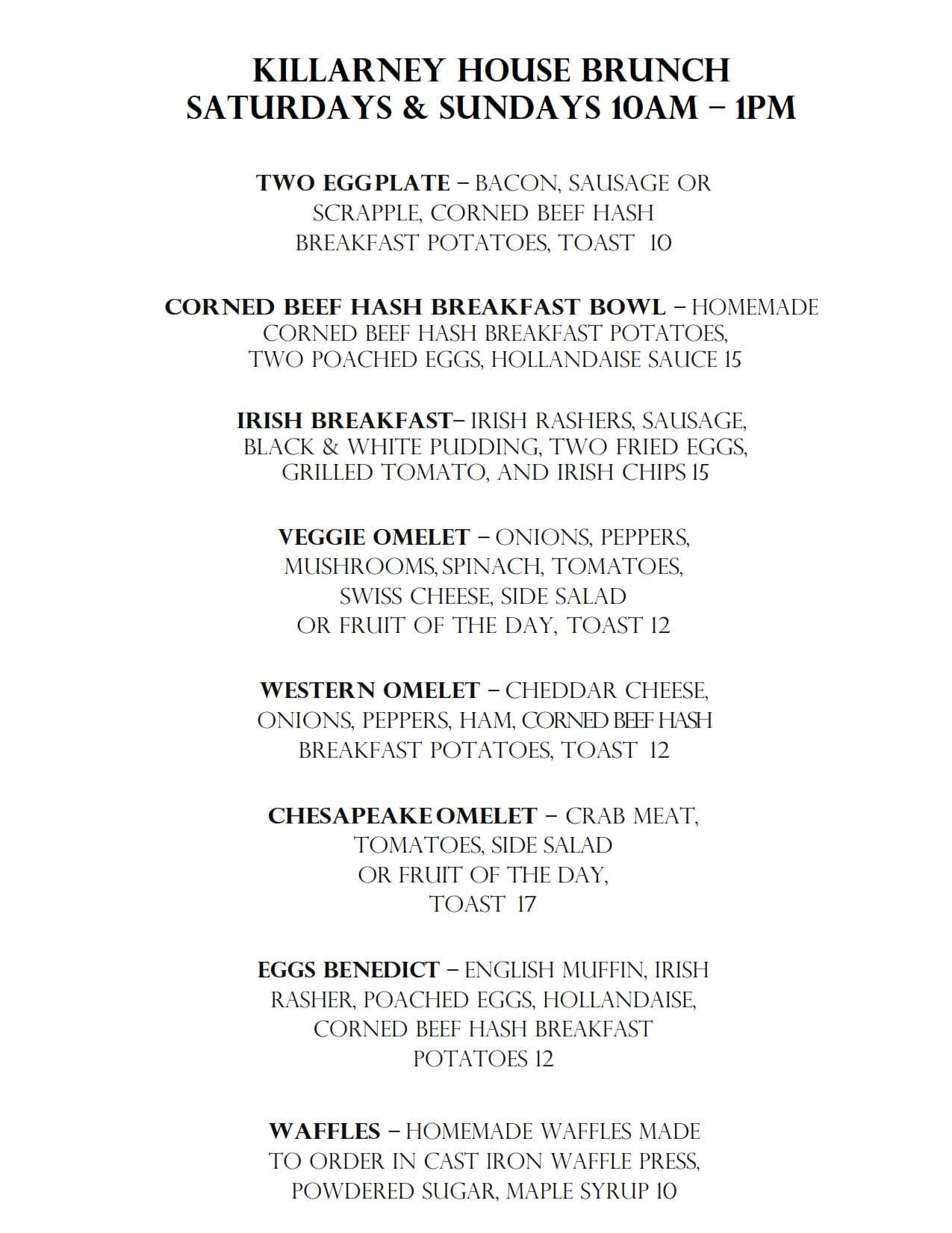 KH BRUNCH MENU 080520 WEB